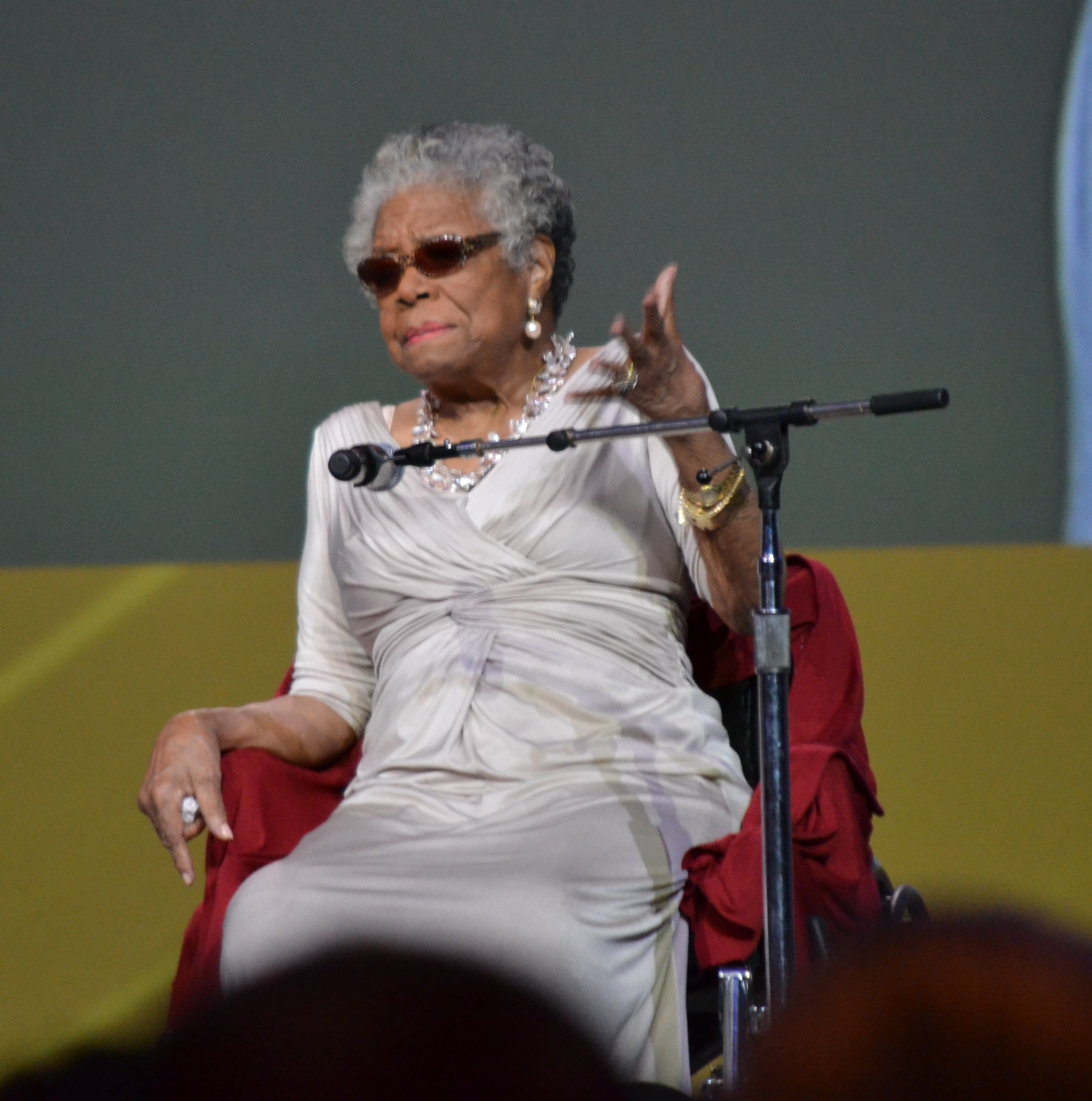 Maya Angelou Speaks To Educators
