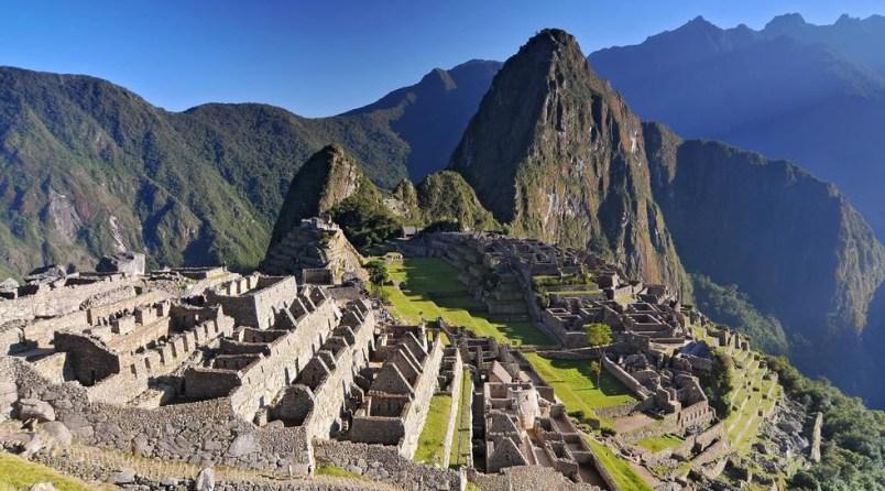 Machu Picchu in Peru - The Lost City of the Incas