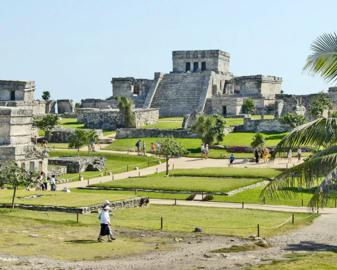 Marvel at the Tulum Ruins