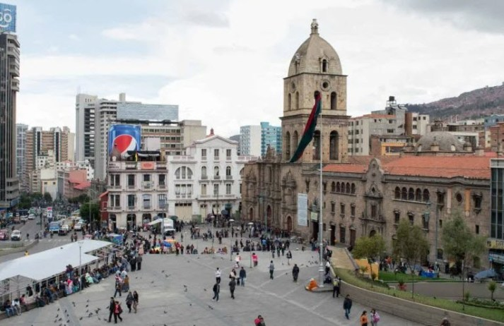 Visit the San Francisco Basilica La Paz