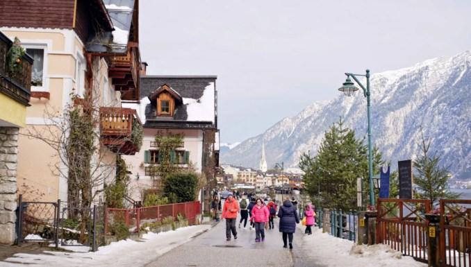 Austria tourism in December