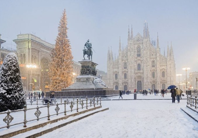 Best Places in Europe To Visit in December in Italy