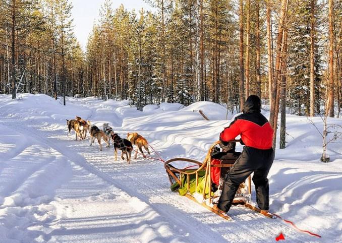 Finland tourism in December