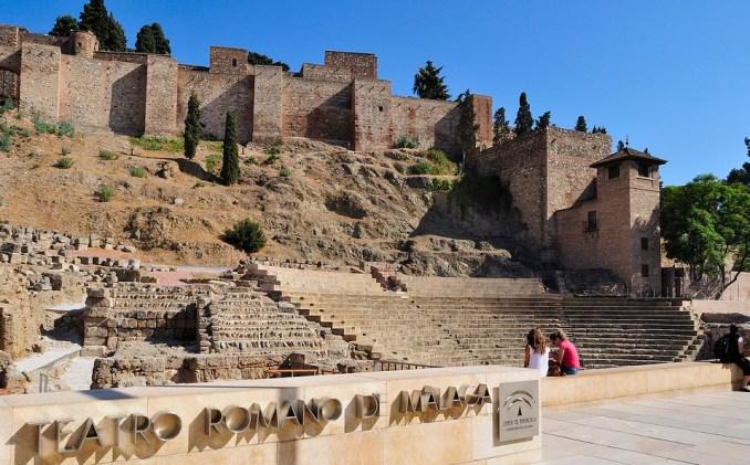 Castillo de Gibralfaro Malaga Spain