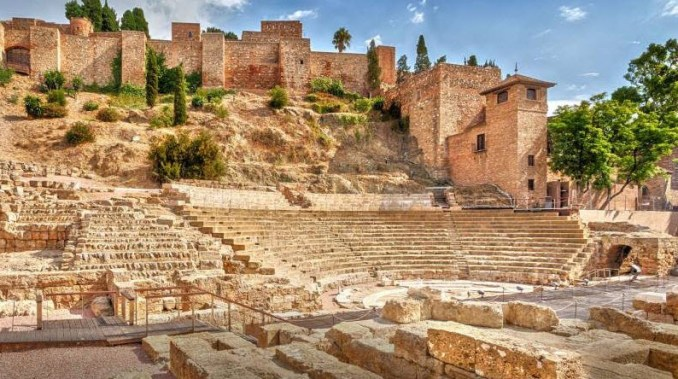 La Alcazaba Malaga Spain