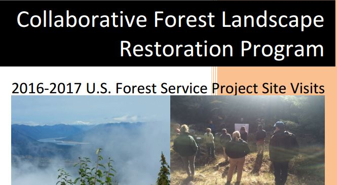 CFLR 2016-17 USFS Project Site Visits Report
