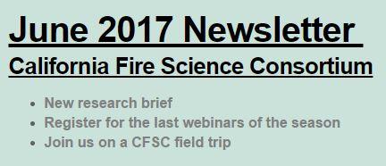CFSC June 2017 Newsletter