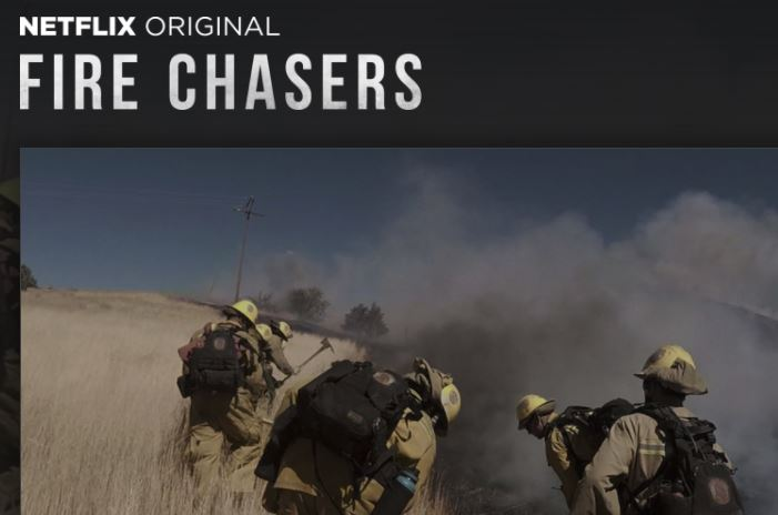 Cal Fire Featured in new Netflix series!