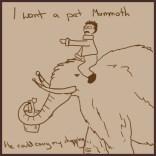 Comic 8 - My pet Mammoth