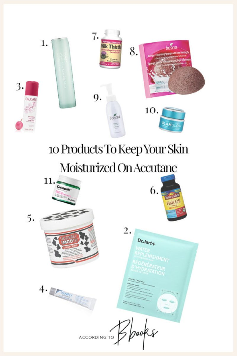 Struggling to find a routine while on Accutane? Here are some of my favorite skincare products I used while on Accutane!