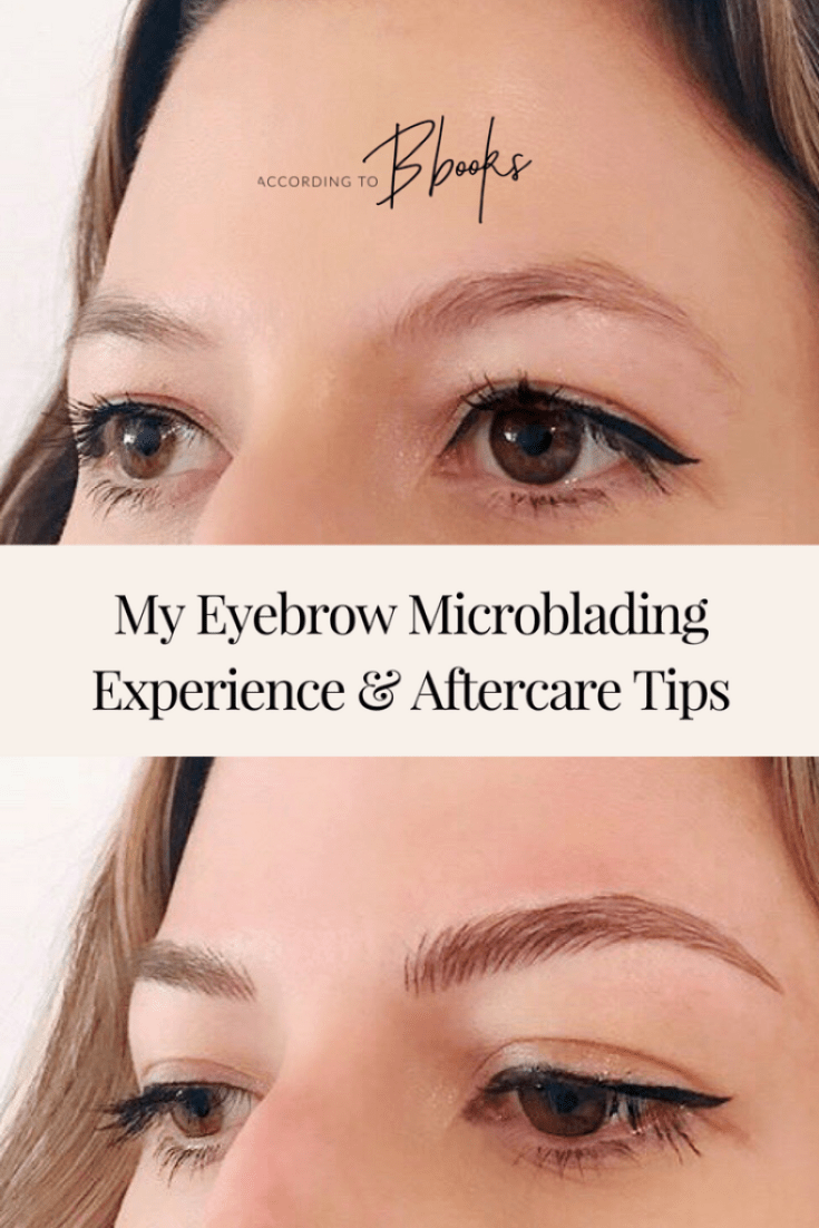 I just got my eyebrows microbladed and am IN LOVE with the results! Read my tips for how to get the most out of your microblading session and aftercare by Luxeblade!