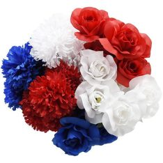 dollar tree patriotic flowers summer