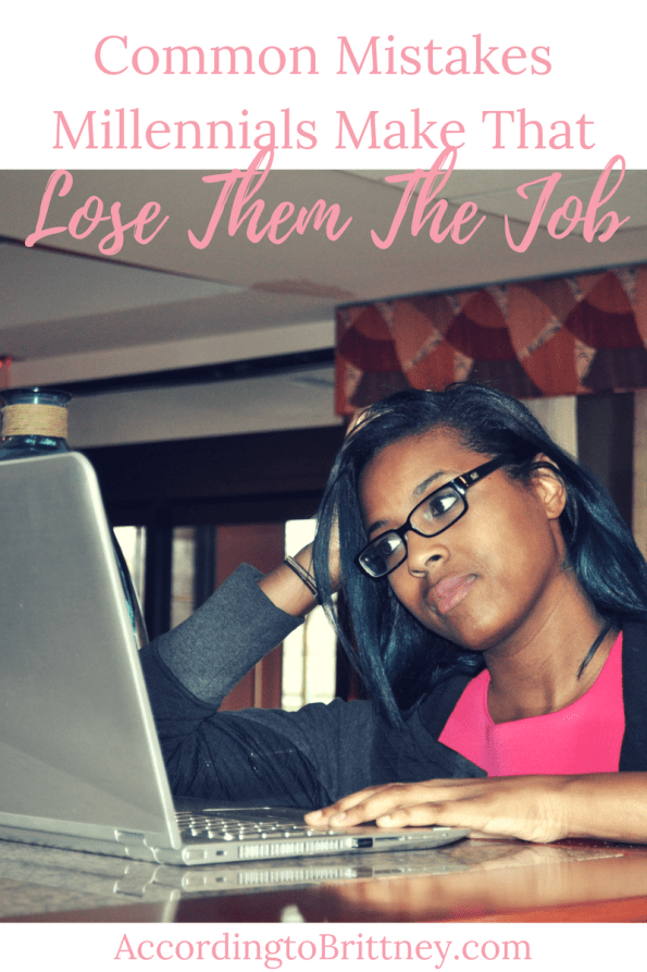 mistakes millenials make that lose them the job