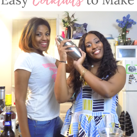 Drunk Mixology | Easy Cocktails to Make In A Home Bar
