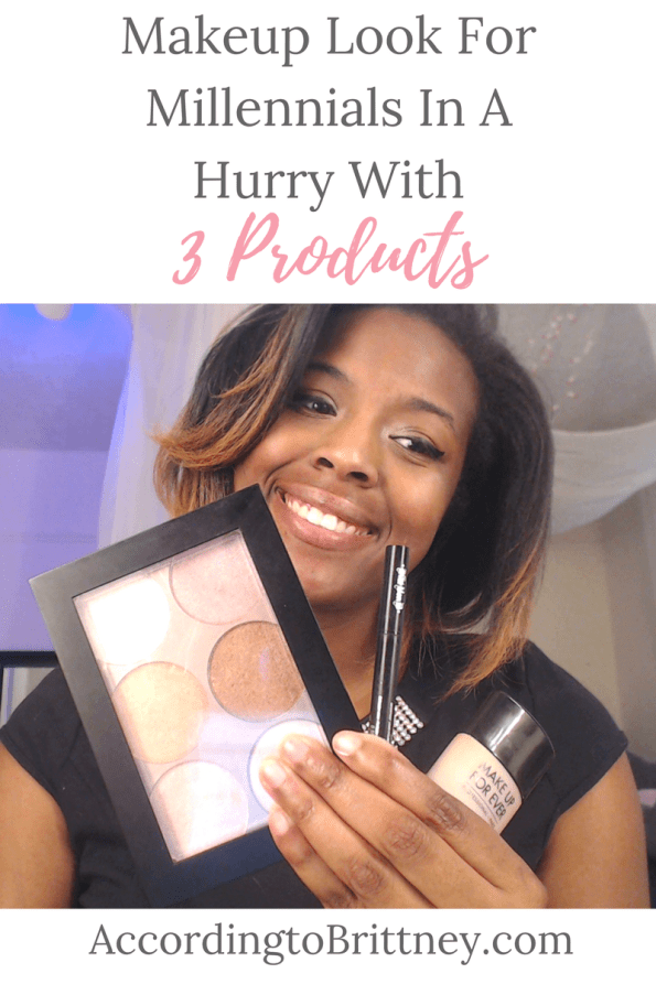 Makeup Look For Millennials In A Hurry With 3 Products