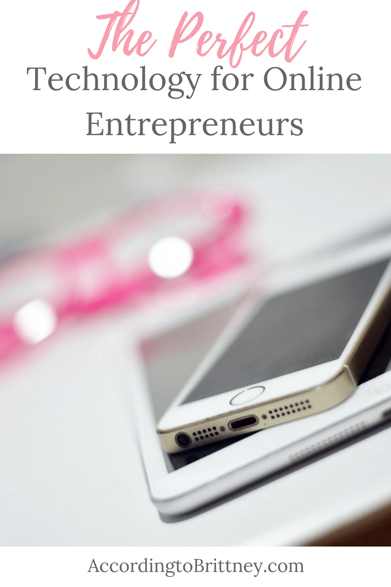 The Perfect Technology for Online Entrepreneurs