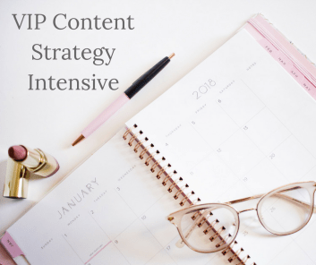 VIP Content Strategy