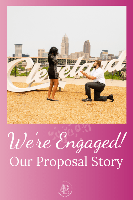 We're Engaged! Our Proposal Story