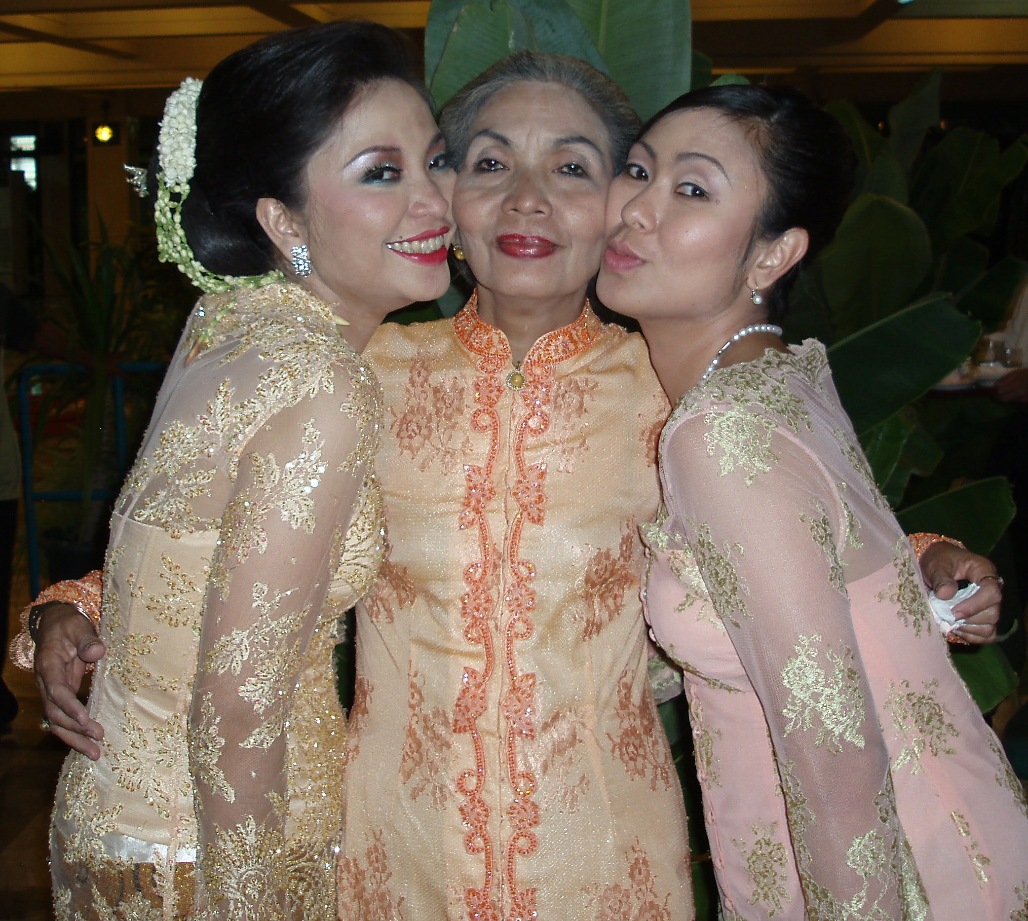 chika the bride, mom, and me