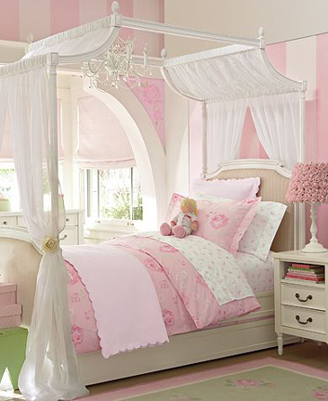 little girl princess bedroom ideas Kids Room (Girls) | accordingtodina