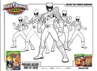Lujoso Dibujos Para Colorear Power Rangers Dino Charge ...