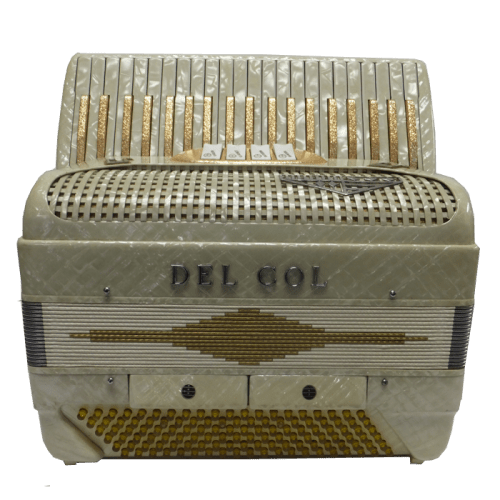 Del Col Pearl 120 Bass Accordion I Mahler Music Center