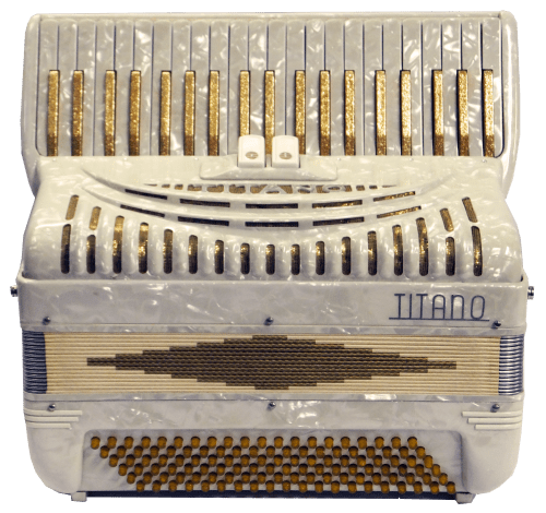 Titano Accordion 120 Bass Accordion