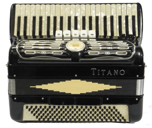 Titano 3 Reed 120 Bass Accordion