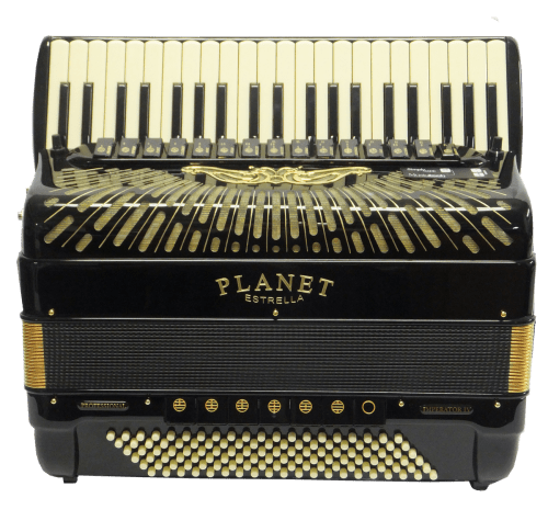 Classic Planet Gold 120 Bass Accordion