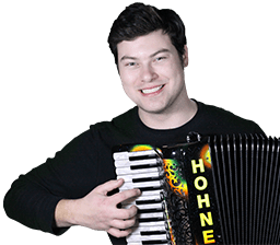 Accordion Teacher Yev Nosov