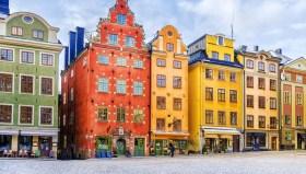 Swedish Colour Houses –dreamstime.com