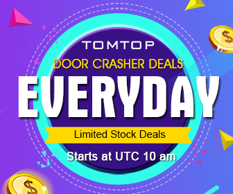 Door Crasher Deals Everyday, Limited Offers,First Come First Served@TOMTOP.com