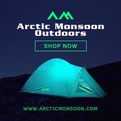 Arctic Monsoon Camping Gear