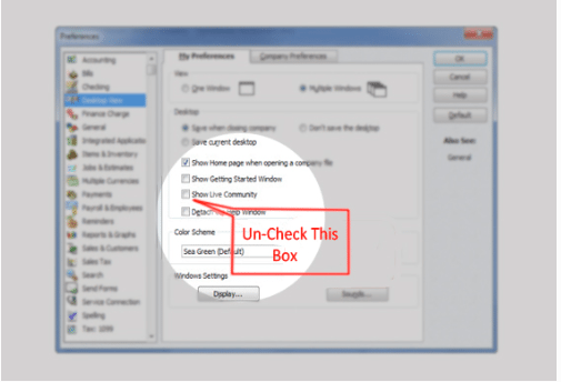 How to Enable and Disable QuickBooks Messenger - Accountant