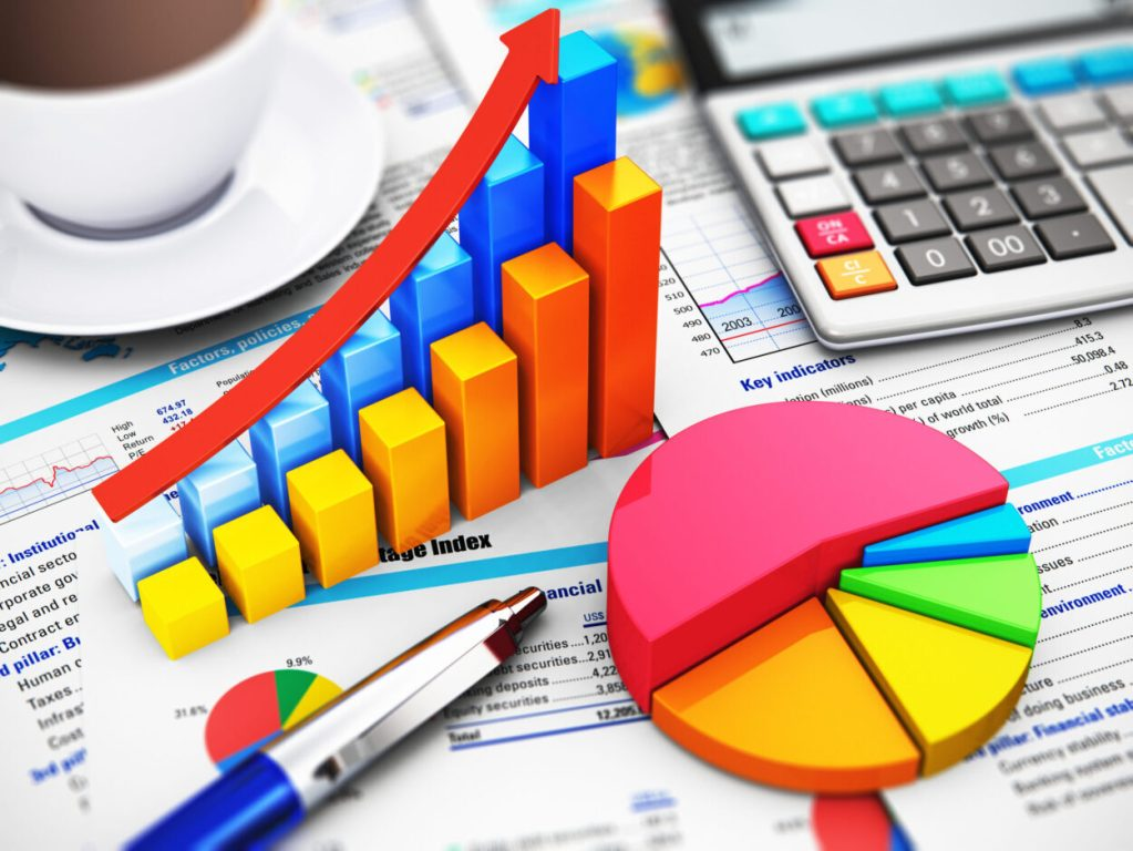 Financial forecasting and financial reporting budget variance analysis