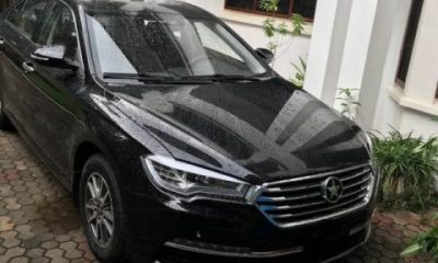 Ofori-Atta Buys A Brand New Kantanka Saloon Car
