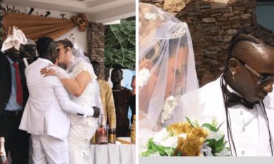 Patapaa finally marries his German girlfriend Liha Miller