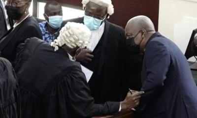 Mahama's application for stay of proceedings struck out
