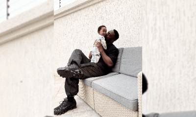 Sarkodie Shares Latest Photo Of His Son MJ