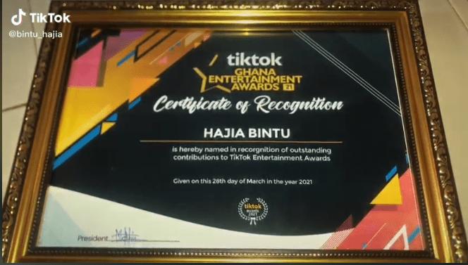 Hajia Bintu award