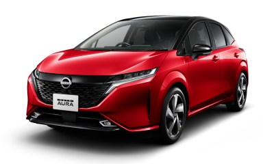 Nissan launches Note Aura in Japan