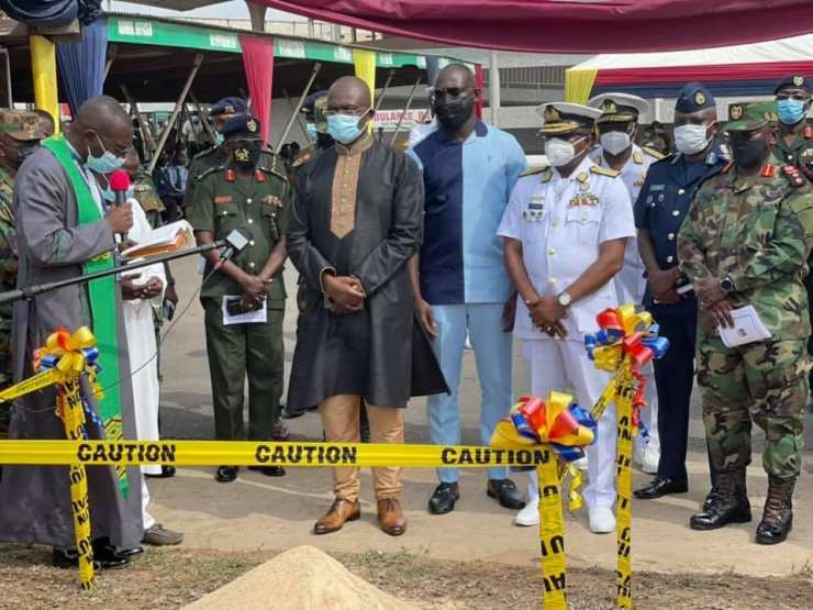 Kennedy agyapong builds cardiothoracic center at 37 military hospital