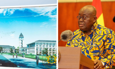 Akufo-Addo cuts sod for $60 million Phase 2 expansion project at UHAS