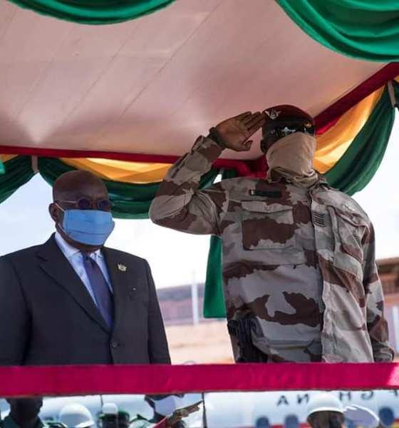 Akufo-Addo meets Mamady Doumbouya