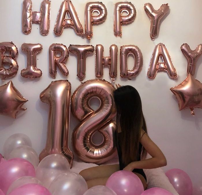 Sur Pinterest ▷ 1001 + idées pour la meilleure décoration anniversaire 18 ans
