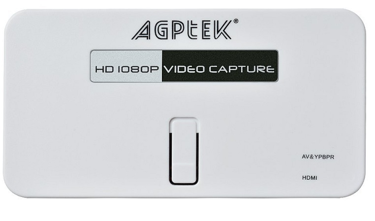 AGPtEK HD 1080P Video Capture Device Game Recorder