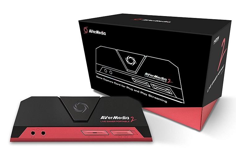 AVerMedia Live Gamer Portable 2 Boîte et carte