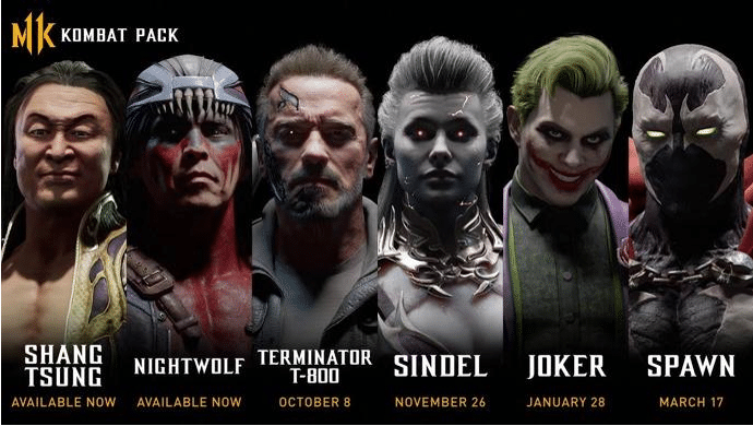 Gamescom 2019 – Annonce des combattants du DLC Mortal Kombat 11
