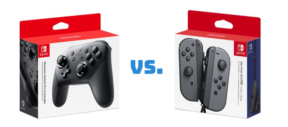 Les «avantages» et les «inconvénients» des contrôleurs de commutation: contrôleur Joy-con vs Pro