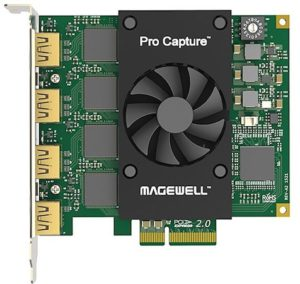 Magewell Pro Capture Quad HDMI Video Capture Card